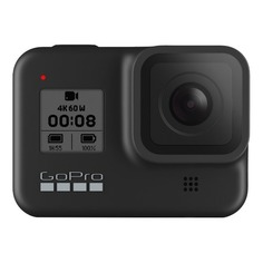 Экшн-камера GOPRO HERO8 Black Edition 4K, WiFi, черный [chdhx-801-rw]