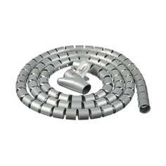 Кабельный органайзер Buro BHP CG252S Spiral Hose 25x2000mm Silver