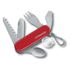 Брелок Victorinox Pocket Knife Toy (9.6092.1) красный/серый пластик д.113мм ш.29мм (доп.ф.:нож) карт