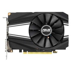 Видеокарта ASUS nVidia GeForce GTX 1650SUPER , PH-GTX1650S-O4G, 4ГБ, GDDR6, OC, Ret