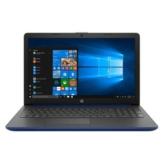 "Ноутбук HP 15-db1132ur, 15.6"", AMD Athlon 300U 2.4ГГц, 4Гб, 128Гб SSD, AMD Radeon Vega 3, Windows 10, 8PK05EA, синий"