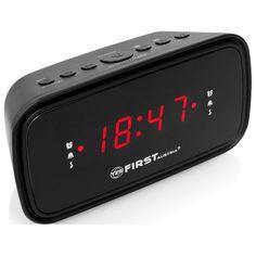Радио-часы FIRST FA-2406-6 Black
