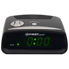 Радио-часы FIRST FA-2410 Black