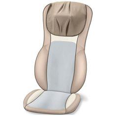 Массажер для спины с подогревом сидения Beurer MG295 Cream