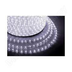 Гирлянда neon-night дюралайт led чейзинг 3w - белый d=13мм, 36led/м, модуль 4м 121-325