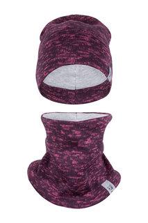 Комплект: шапка и снуд Zukka