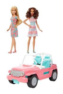 Внедорожник с куклами Барби Barbie