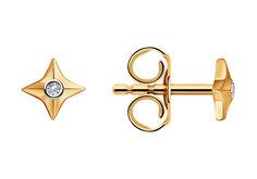 Золотые серьги Серьги SKLV 1021497-5_s