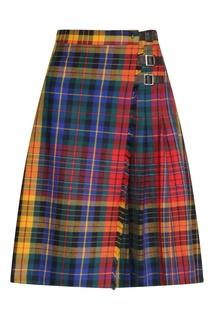 Клетчатая юбка с ремешками Bosco Fresh