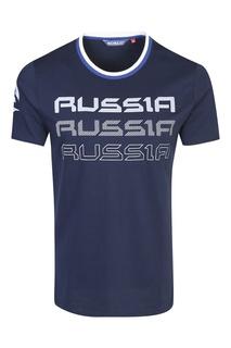Темно-синяя облегающая футболка Bosco Fresh