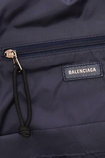 Темно-синий рюкзак Wheel S Balenciaga