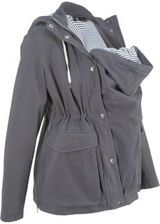 Куртки Куртка для беременных со вкладкой для малыша Bonprix
