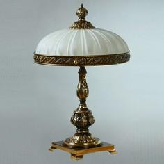 Настольная лампа декоративная Navarra 02228T/3 PB Ambiente by Brizzi
