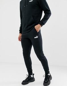 Черные узкие джоггеры Puma Essentials-Черный