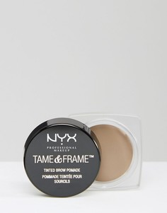 Помада для бровей NYX Professional Makeup Tame & Frame-Черный