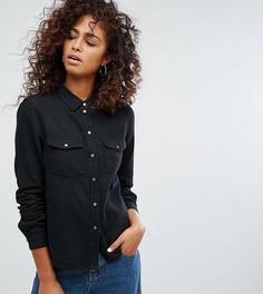 Джинсовая рубашка Noisy May-Черный