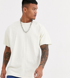 Белая oversize-футболка Reclaimed Vintage inspired-Белый