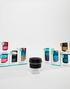 Прозрачная многоразовая чашка емкостью 8 унций KeepCup Original-Мульти