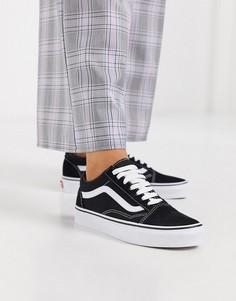 Черные кроссовки Vans Classic Old Skool-Черный