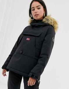 Черная куртка Napapijri - Skidoo 2-Черный