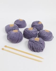 Набор для вязания покрывала Calm club-Мульти
