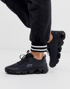 Черные кроссовки Skechers Skech 92-Черный