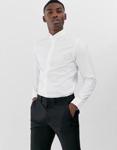 Белая рубашка Selected Homme-Белый