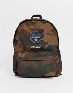 Рюкзак с камуфляжным принтом Napapijri Voyage-Зеленый