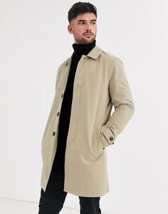 Макинтош верблюжьего цвета Burton Menswear-Светло-коричневый