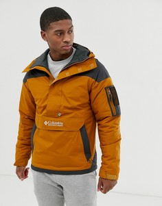 Коричневая куртка Columbia Challenger-Коричневый