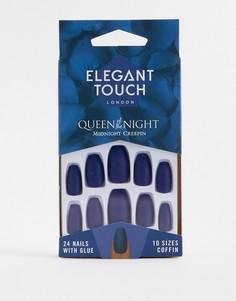 Накладные ногти Elegant Touch Queen of the Night - Midnight Creepin-Мульти