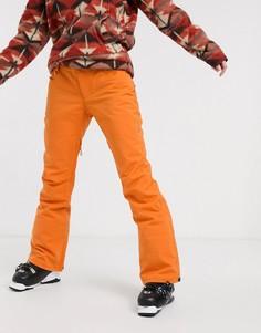 Оранжевые лыжные брюки Billabong-Оранжевый