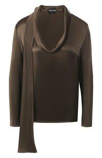 Шелковая блузка Tom Ford