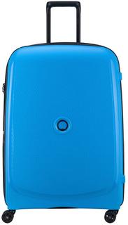Чемодан Delsey Belmont Plus 00386182122 (металлик, синий)