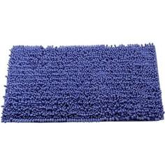 Коврик для ванной Swensa Molle 50х80 синий (BSM-8100-BL)