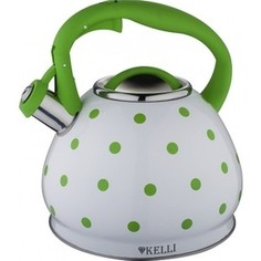 Чайник 3л Kelli KL-4316 зеленый