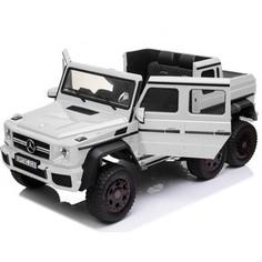 Детский электромобиль Dongma Mercedes-Benz G63 AMG White 4WD - DMD-318-WHITE