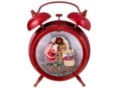 Новогодний сувенир Lefard Будильник Red 865-396
