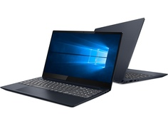 Ноутбук Lenovo IdeaPad S340-15 81NC006PRU (AMD Ryzen 5 3500U 2.1GHz/12288Mb/256Gb SSD/AMD Radeon Vega 8/Wi-Fi/Bluetooth/Cam/15.6/1920x1080/Windows 10 64-bit)