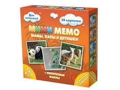 Настольная игра Нескучные игры Ми-Ми-Мемо Экзотические животные 8064