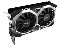 Видеокарта MSI GeForce GTX 1650 Super Ventus XS 1740Mhz PCI-E 3.0 4096Mb 12000Mhz 128 bit HDMI DVI-D HDCP GTX 1650 SUPER VENTUS XS OC
