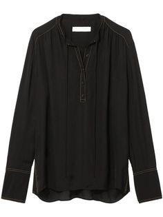 Proenza Schouler White Label блузка с длинными рукавами