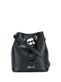 Karl Lagerfeld сумка-ведро Ikonik