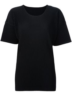Homme Plissé Issey Miyake плиссированная футболка