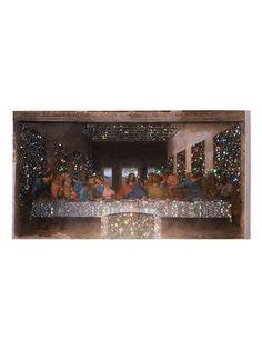 Browns X Sara Shakeel постер Crystal Last Supper A2