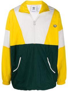 adidas спортивная куртка в стиле колор-блок с логотипом