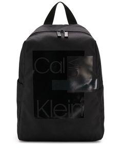 Calvin Klein саржевый рюкзак с принтом