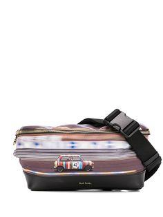 Paul Smith поясная сумка с принтом