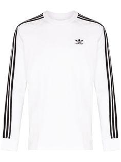 adidas футболка Originals с длинными рукавами и полосками