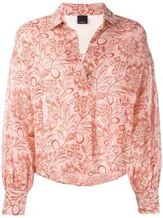 Pinko блузка с цветочным принтом